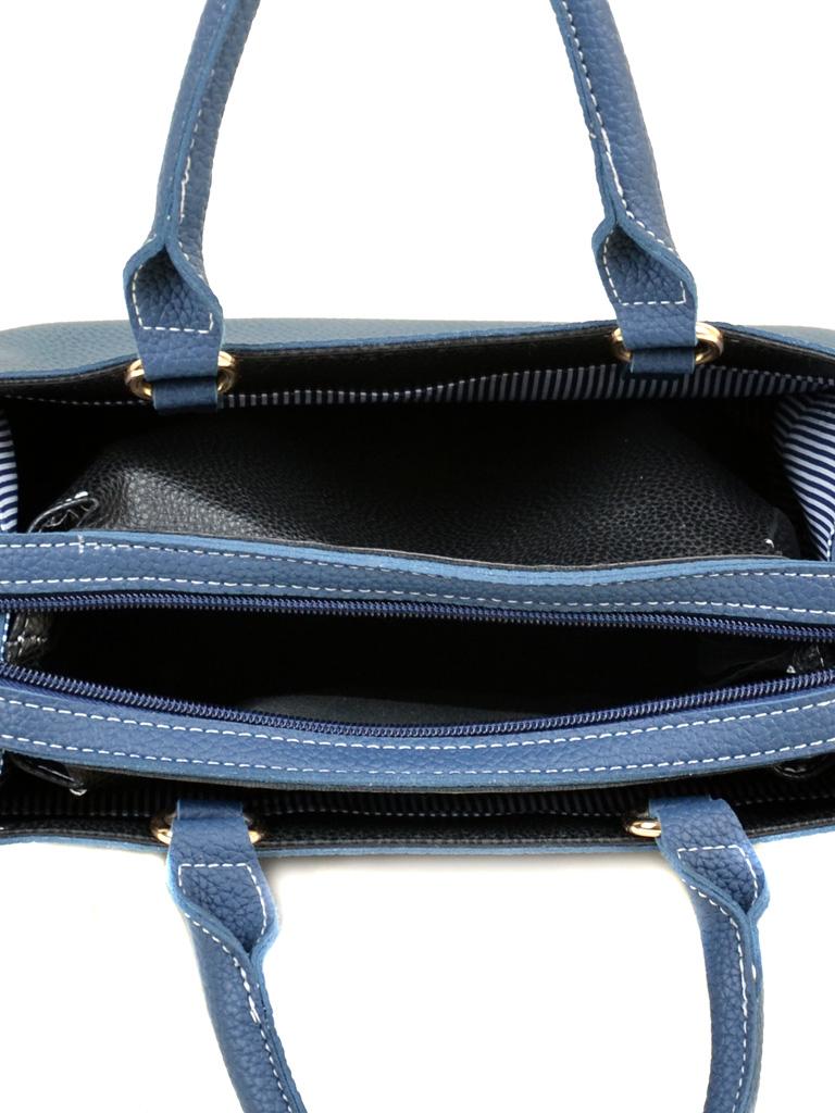 Сумка Женская Классическая иск-кожа ALEX RAI 2-03 88011 blue - фото 5