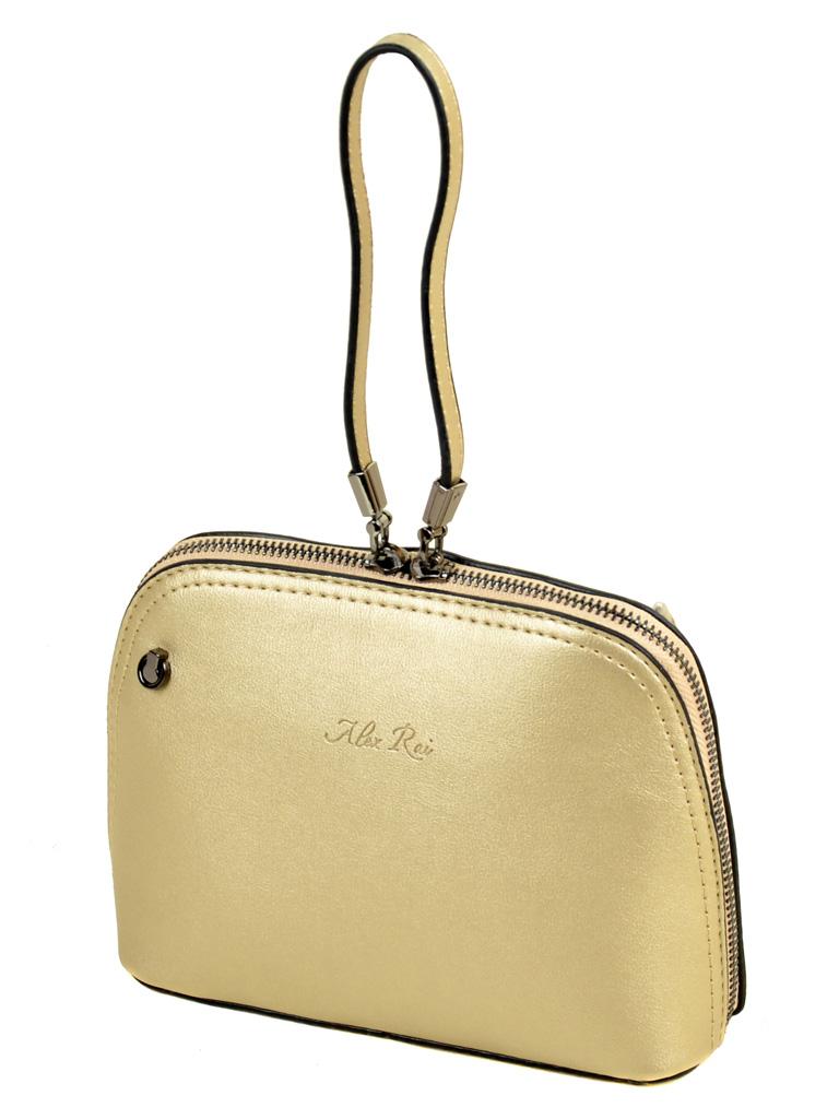 Сумка Женская Клатч иск-кожа ALEX RAI 2-03 511 gold