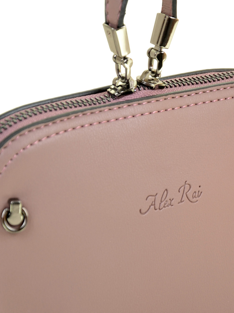 Сумка Женская Клатч иск-кожа ALEX RAI 2-03 511 grey-purple