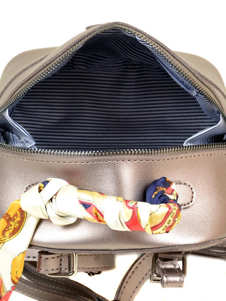 Сумка Женская Рюкзак иск-кожа ALEX RAI 2-03 10089 brown - фото 5