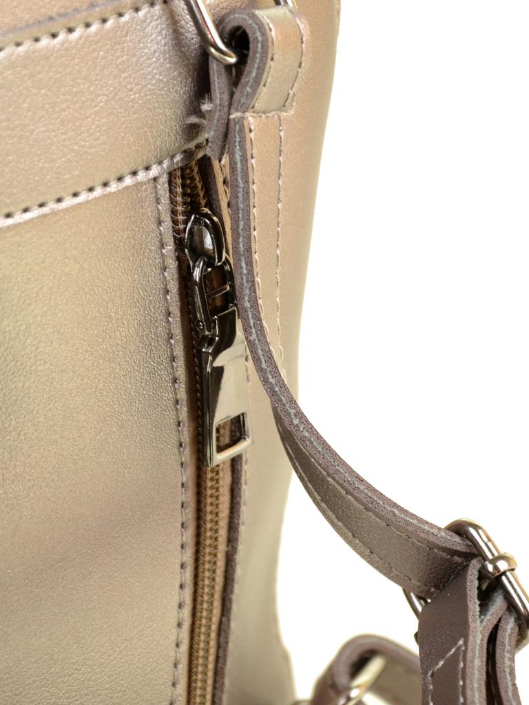 Сумка Женская Рюкзак иск-кожа ALEX RAI 2-03 10089 brown - фото 4