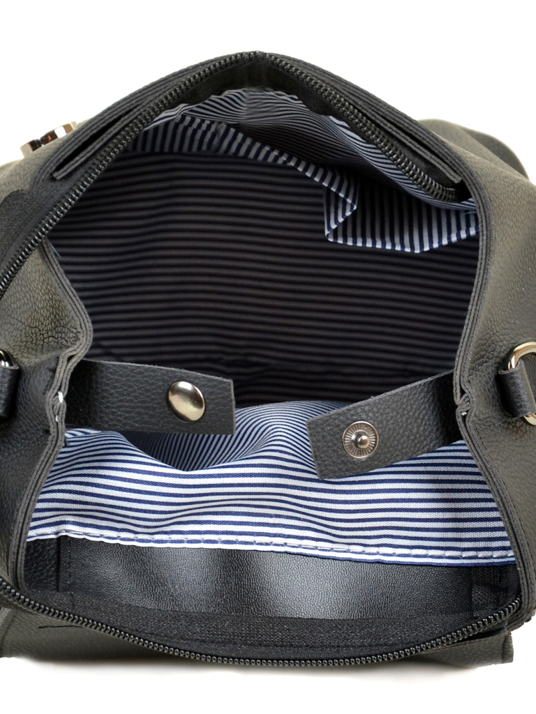Сумка Женская Рюкзак иск-кожа ALEX RAI 2-03 20065 black