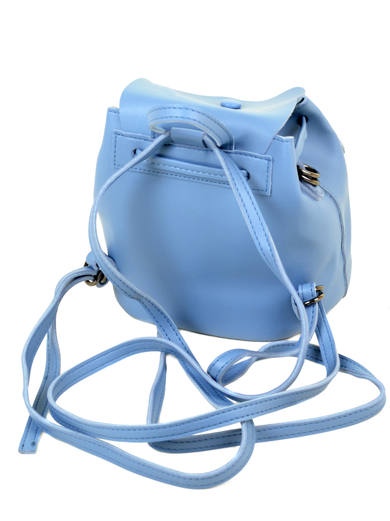 Сумка Женская Рюкзак иск-кожа ALEX RAI 2-03 51005 blue