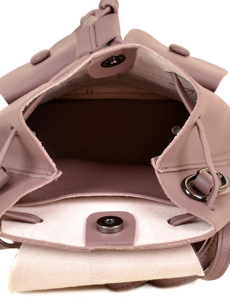 Сумка Женская Рюкзак иск-кожа ALEX RAI 2-03 51005 purple