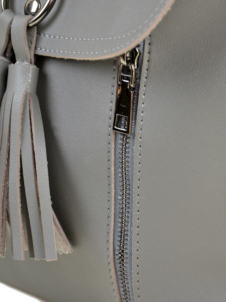 Сумка Женская Рюкзак иск-кожа ALEX RAI 2-03 A-02 grey - фото 3