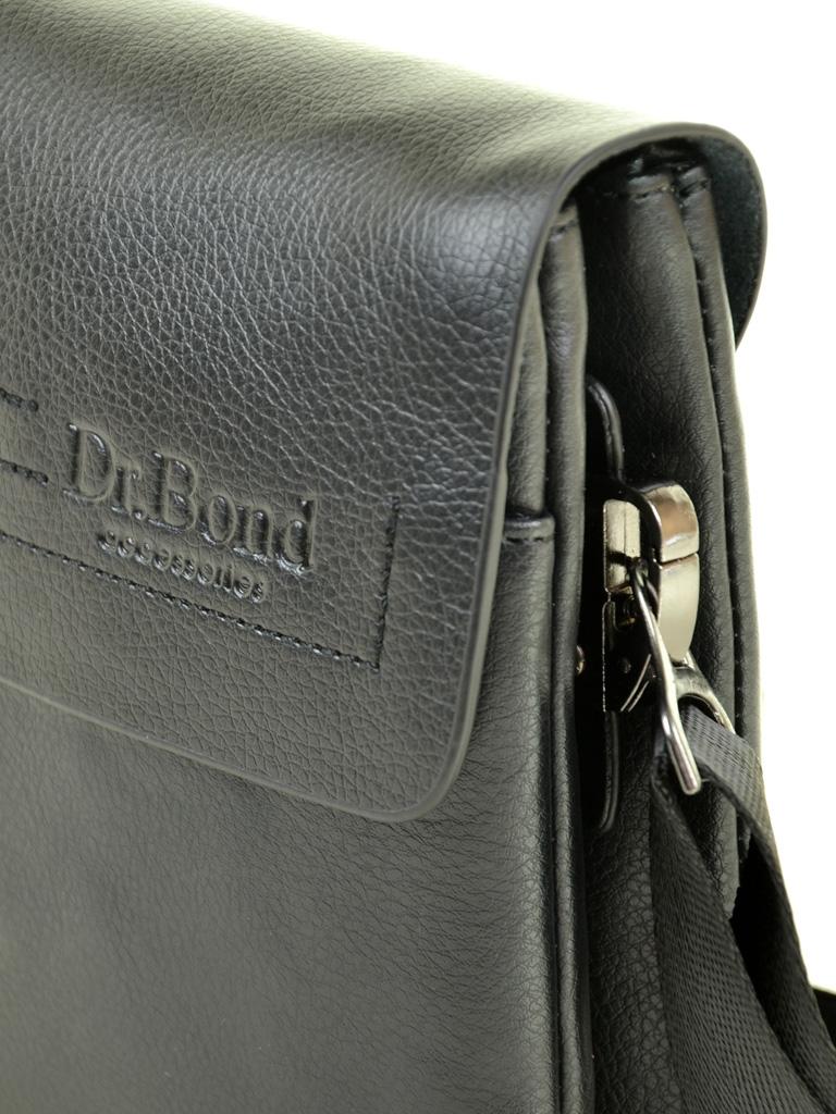 Сумка Мужская Планшет иск-кожа DR. BOND 208-0 black