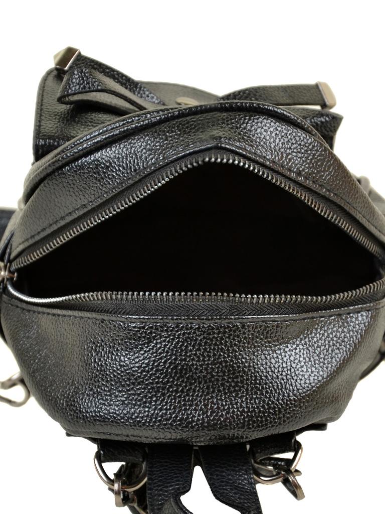 Сумка Женская Рюкзак иск-кожа ALEX RAI 2-05 1701-0 black - фото 5