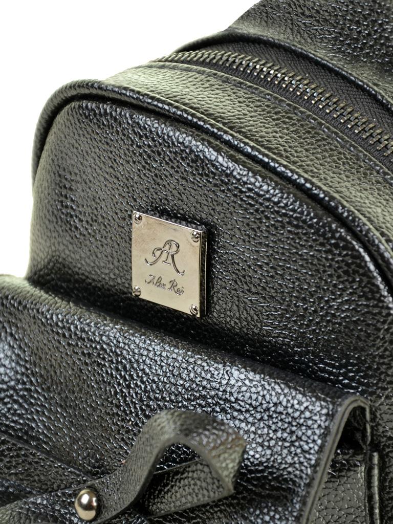 Сумка Женская Рюкзак иск-кожа ALEX RAI 2-05 1701-0 black - фото 3