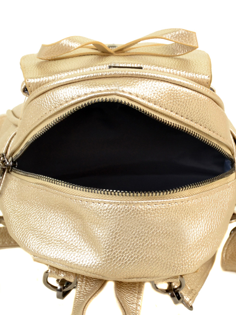Сумка Женская Рюкзак иск-кожа ALEX RAI 2-05 1701-0 gold