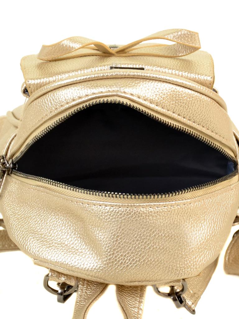 Сумка Женская Рюкзак иск-кожа ALEX RAI 2-05 1701-0 gold - фото 5