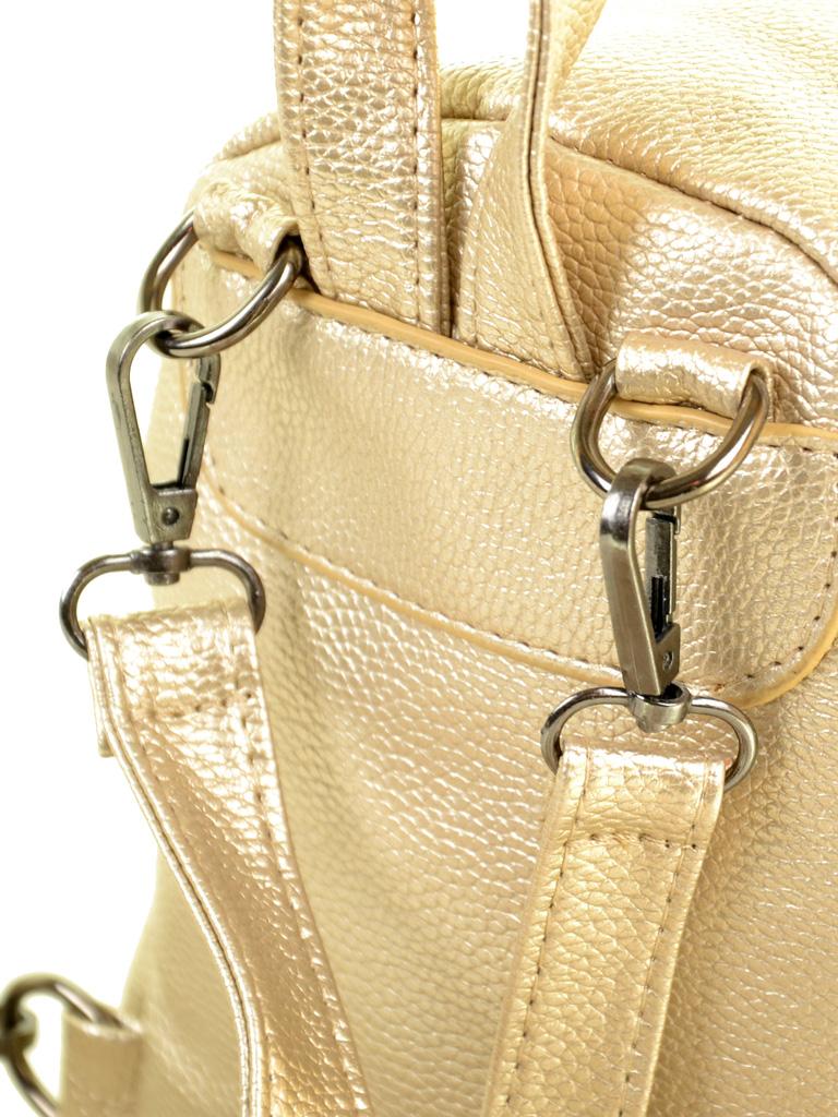 Сумка Женская Рюкзак иск-кожа ALEX RAI 2-05 1701-0 gold - фото 4