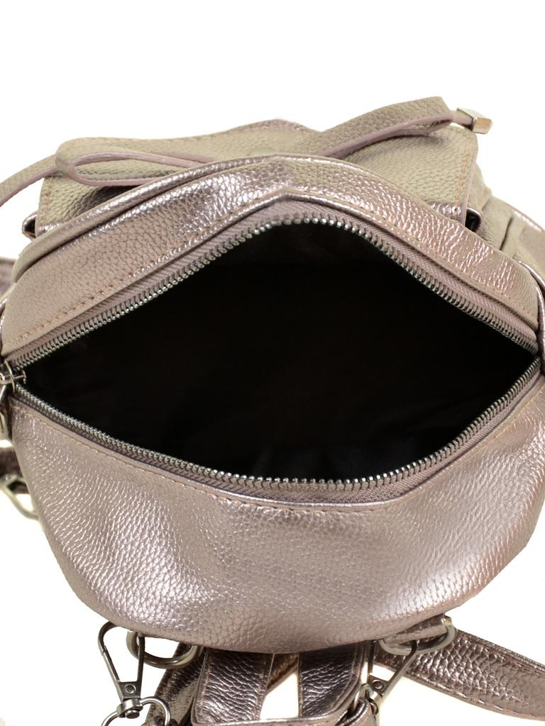 Сумка Женская Рюкзак иск-кожа ALEX RAI 2-05 1701-0 iron-grey - фото 5