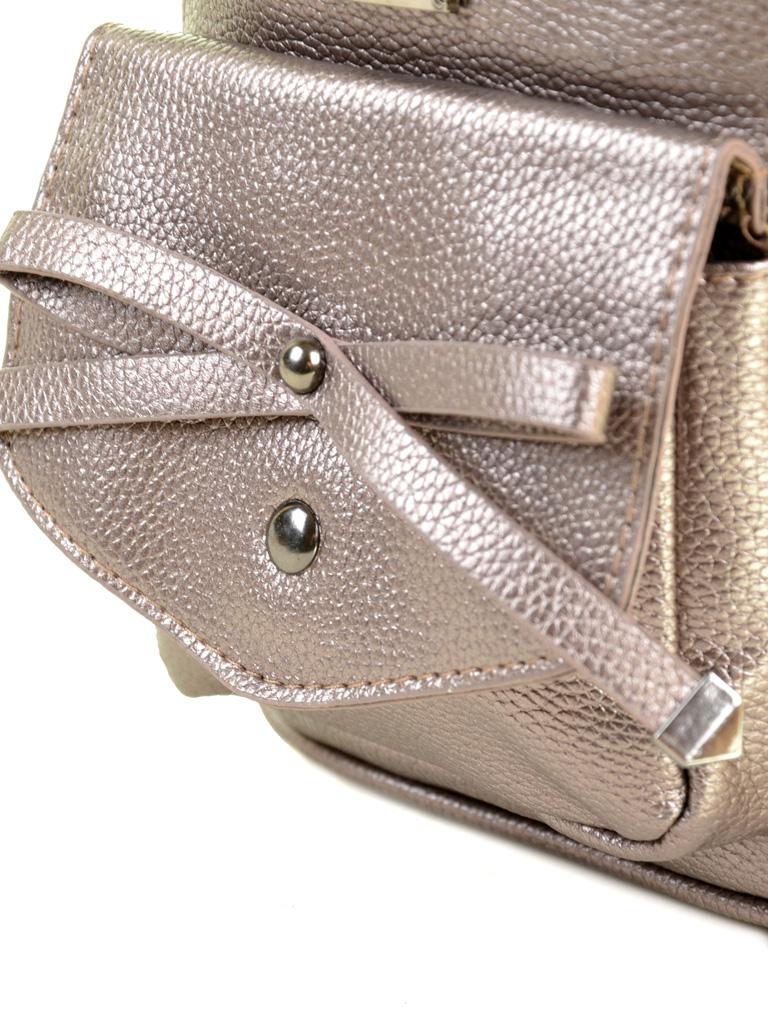 Сумка Женская Рюкзак иск-кожа ALEX RAI 2-05 1701-0 iron-grey - фото 3