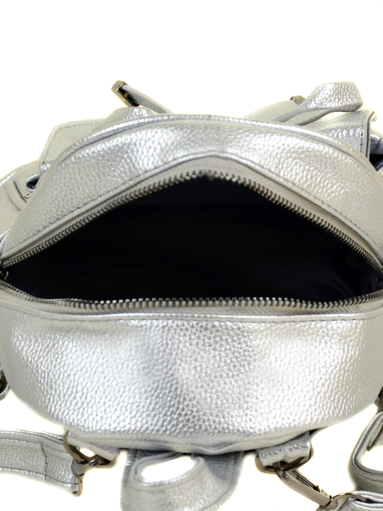 Сумка Женская Рюкзак иск-кожа ALEX RAI 2-05 1701-0 silver - фото 5