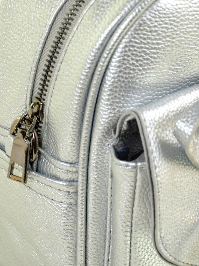 Сумка Женская Рюкзак иск-кожа ALEX RAI 2-05 1701-0 silver - фото 3
