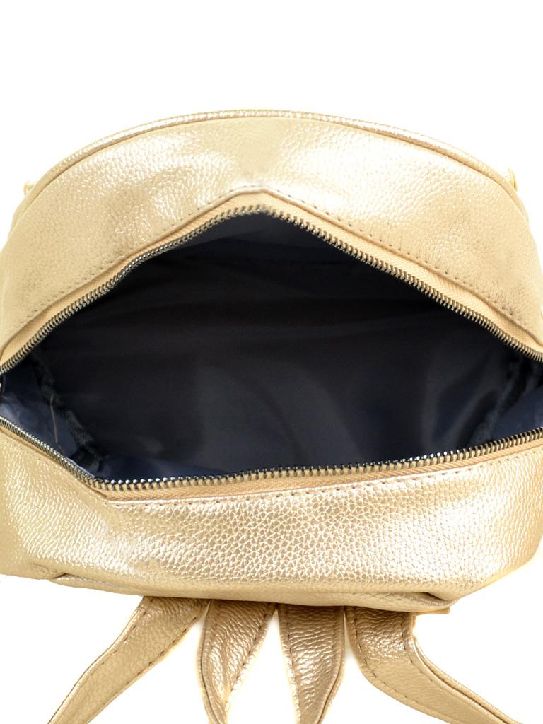 Сумка Женская Рюкзак иск-кожа ALEX RAI 2-05 1701-1 golden - фото 4