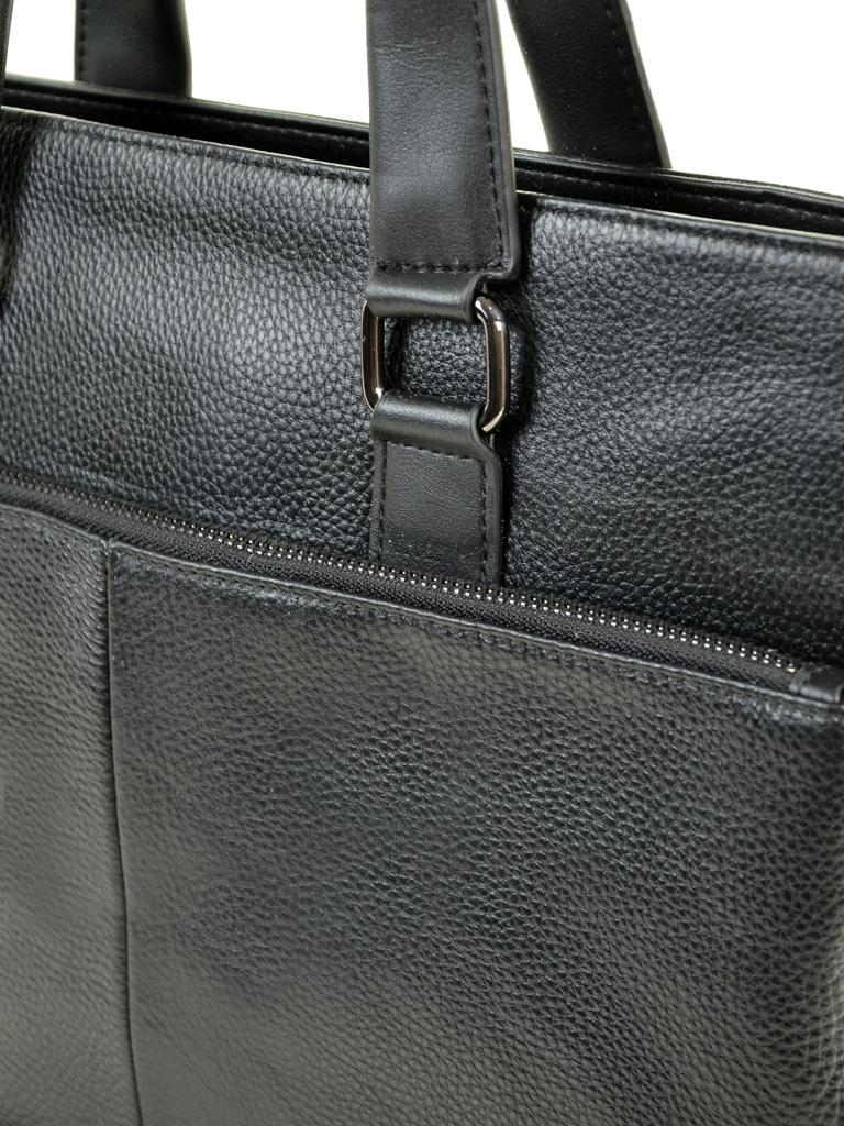 Сумка Мужская Портфель кожа BRETTON 602 black