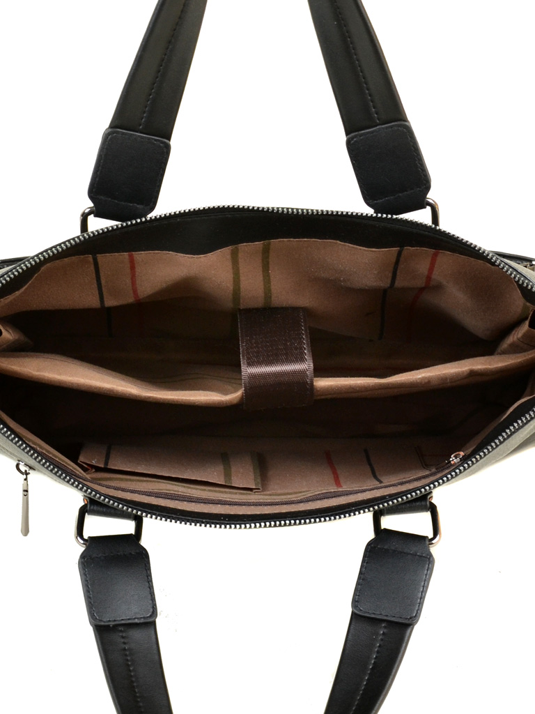 Сумка Мужская Портфель кожа BRETTON 603 black - фото 5