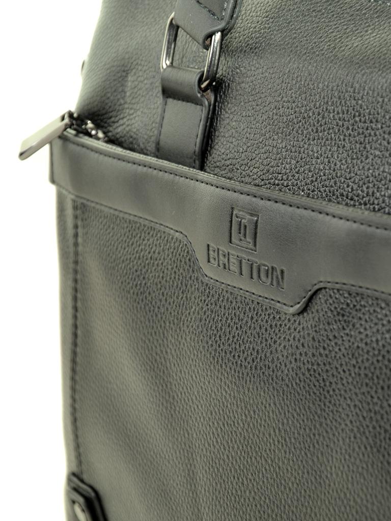 Сумка Мужская Портфель кожа BRETTON 603 black - фото 3