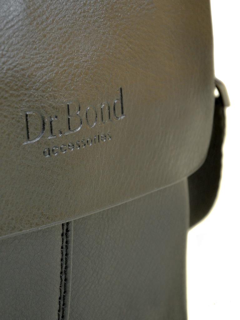 Сумка Мужская Планшет иск-кожа DR. BOND 207-0 black - фото 3
