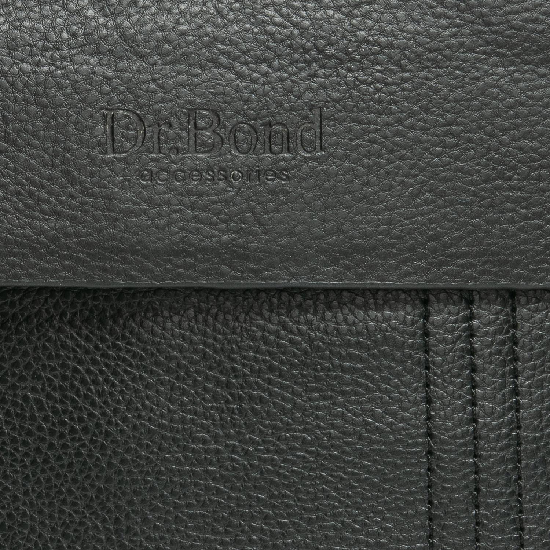 Сумка Мужская Планшет иск-кожа DR. BOND 303-3 black - фото 5