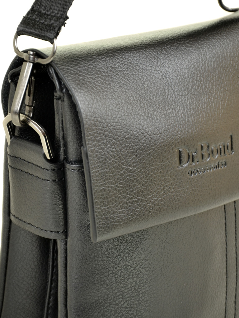 Сумка Мужская Планшет иск-кожа DR. BOND 305-1 black - фото 3
