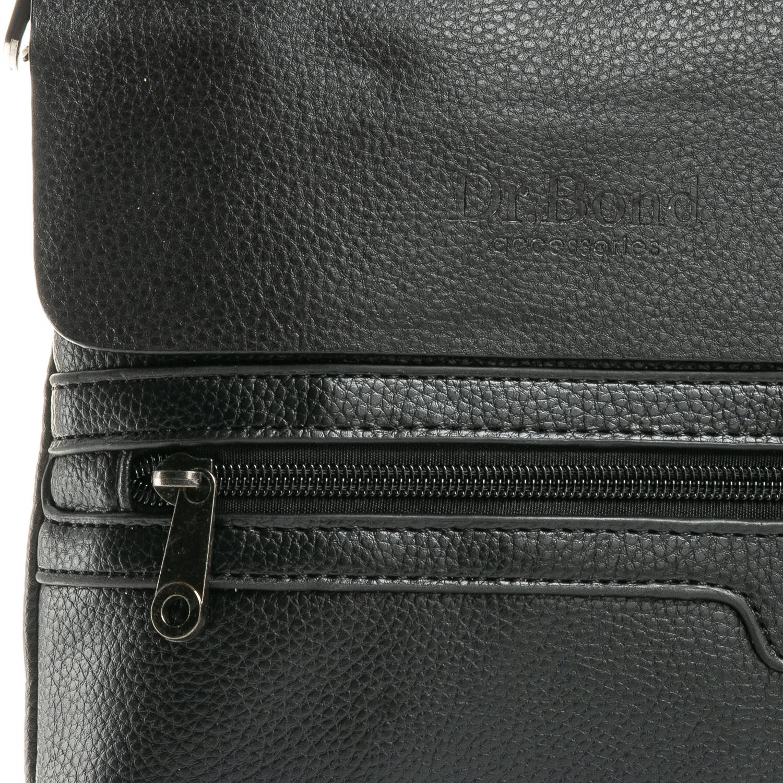 Сумка Мужская Планшет иск-кожа DR. BOND 305-3 black - фото 5