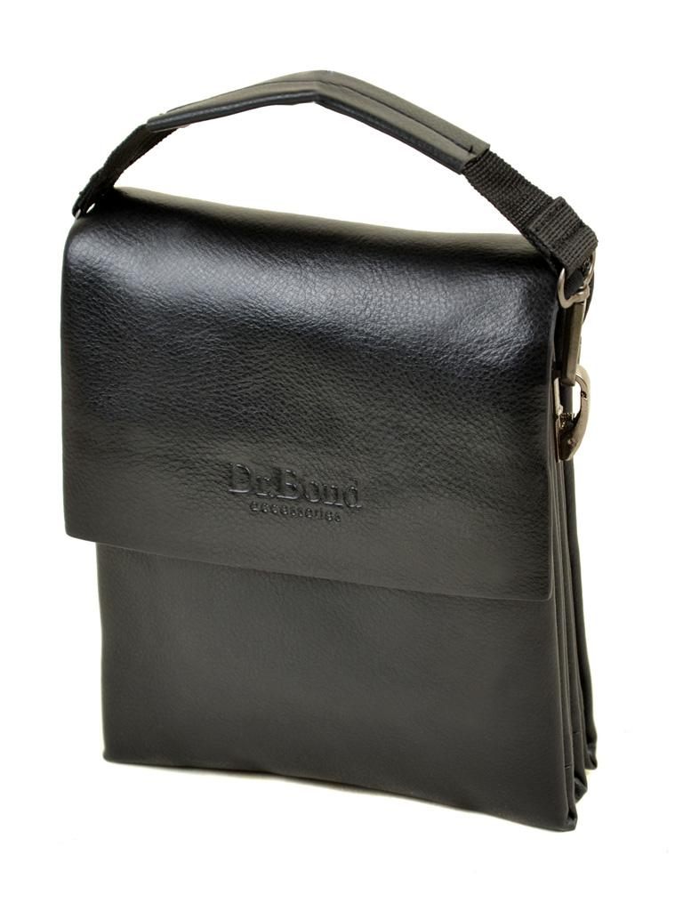 Сумка Мужская Планшет иск-кожа DR. BOND 308-1 black