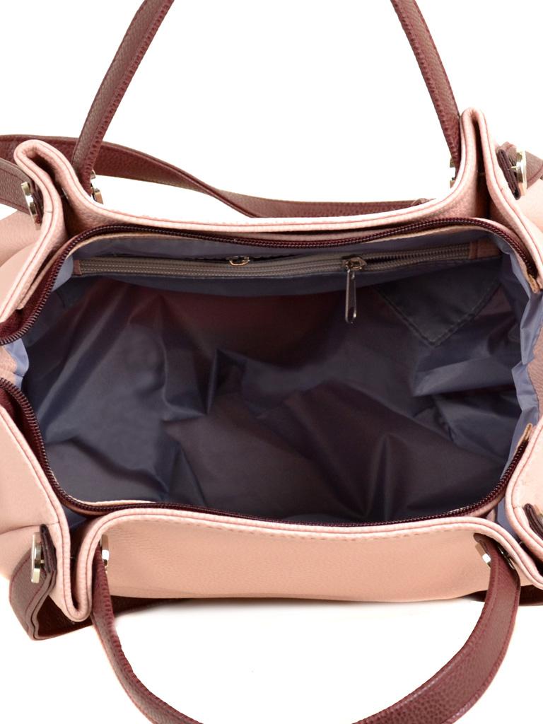 Сумка Женская Классическая иск-кожа М 130 №65/38 pink