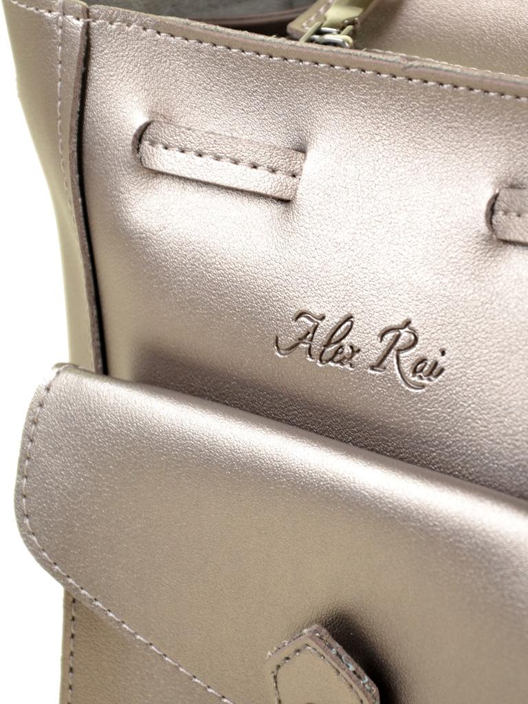 Сумка Женская Классическая иск-кожа ALEX RAI 2-04 0996 bronz