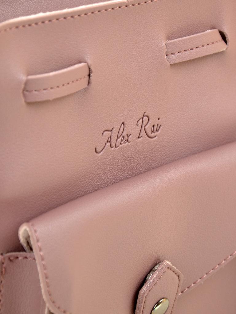Сумка Женская Классическая иск-кожа ALEX RAI 2-04 0996 purple - фото 3