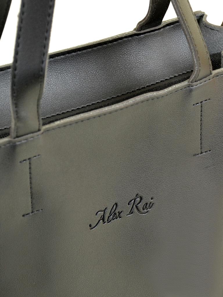 Сумка Женская Классическая иск-кожа ALEX RAI 2-04 1852 black