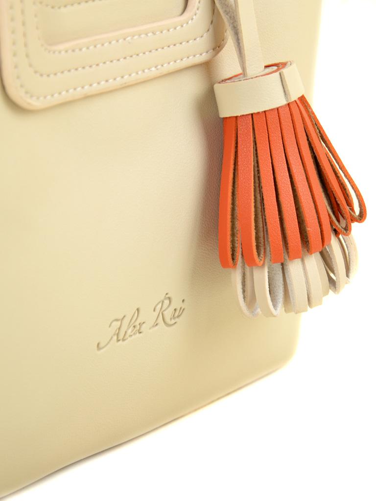 Сумка Женская Классическая иск-кожа ALEX RAI 2-04 1856 beige