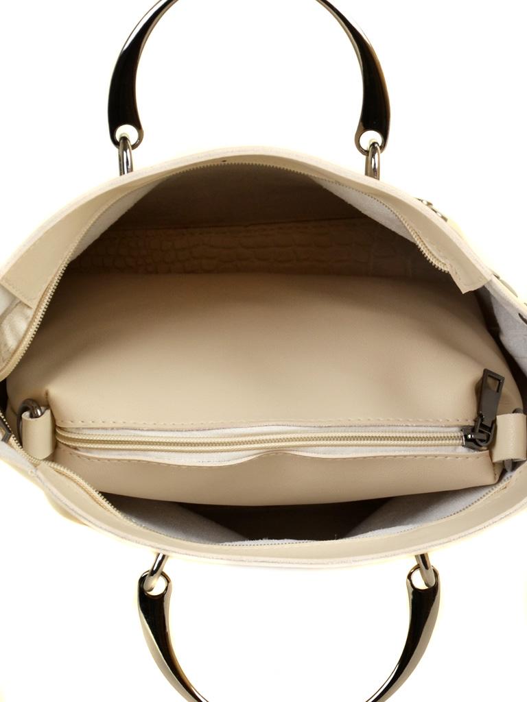 Сумка Женская Классическая иск-кожа ALEX RAI 2-04 1861 beige - фото 5
