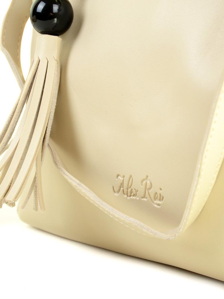 Сумка Женская Классическая иск-кожа ALEX RAI 2-04 3312 beige