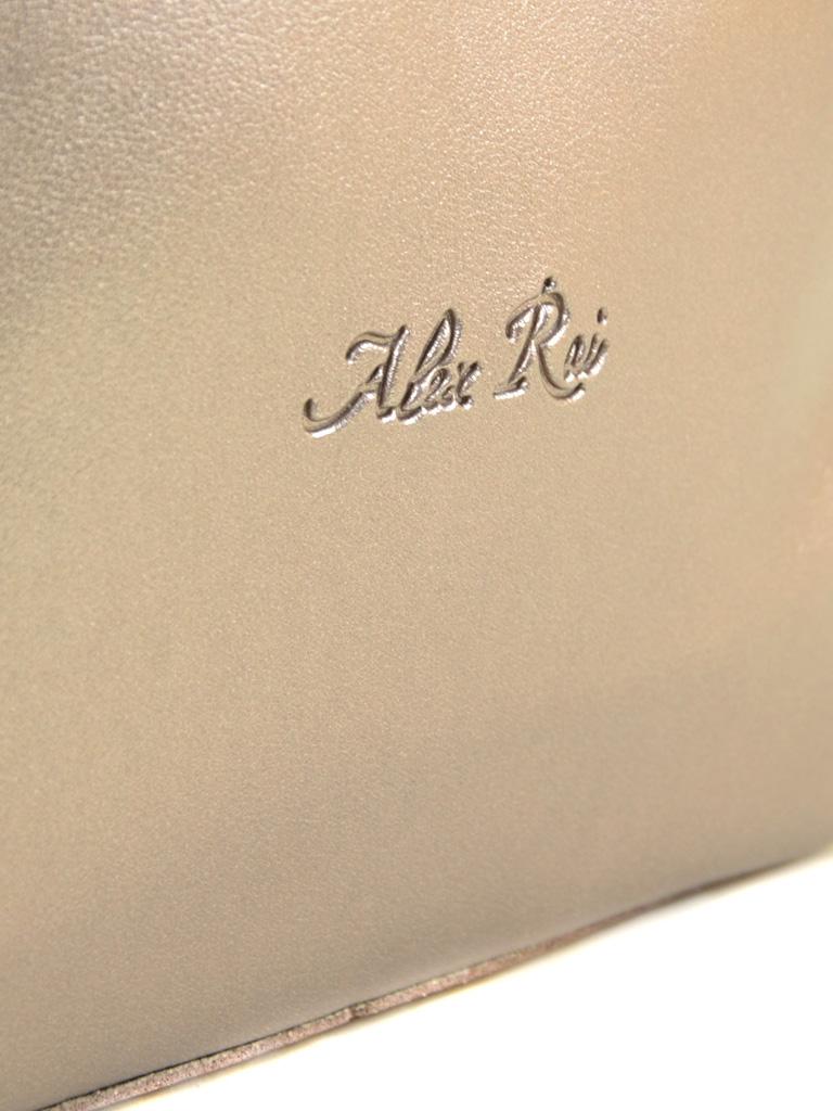Сумка Женская Классическая иск-кожа ALEX RAI 2-04 5093 bronz