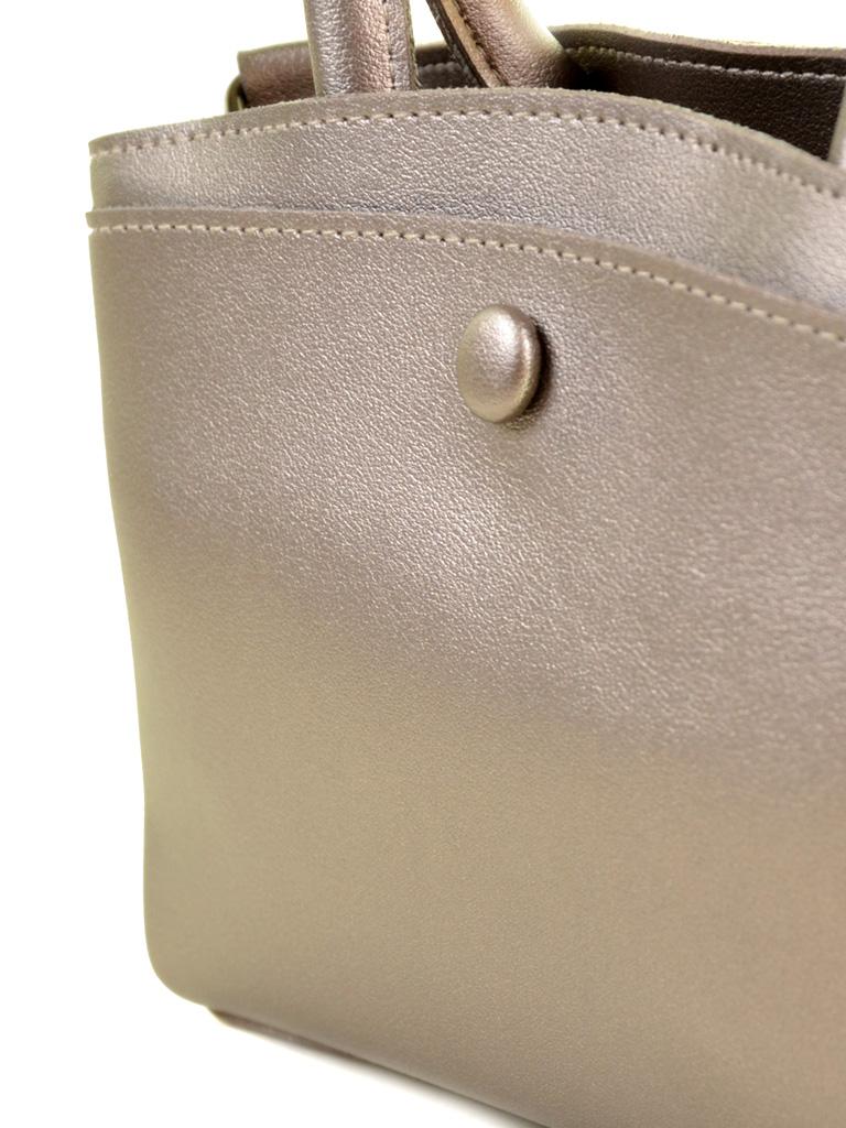 Сумка Женская Классическая иск-кожа ALEX RAI 2-04 5603 bronz