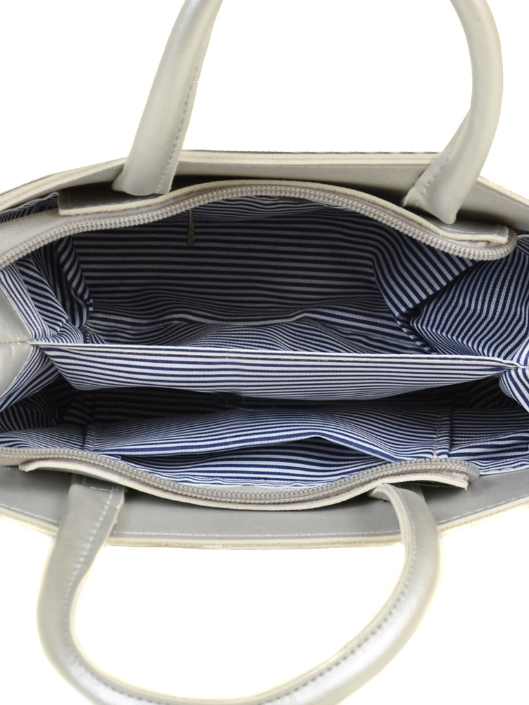 Сумка Женская Классическая иск-кожа ALEX RAI 2-04 5603 silver
