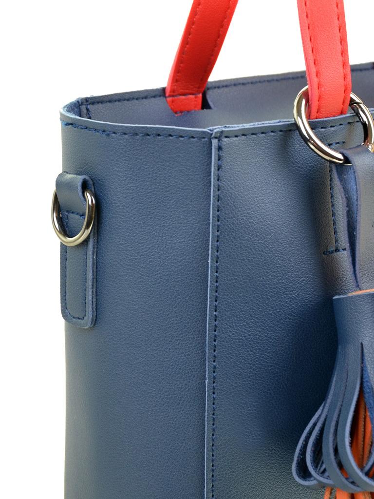 Сумка Женская Классическая иск-кожа ALEX RAI 2-04 8069 blue