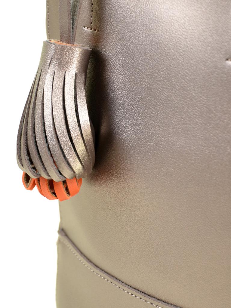 Сумка Женская Классическая иск-кожа ALEX RAI 2-04 8069 bronz