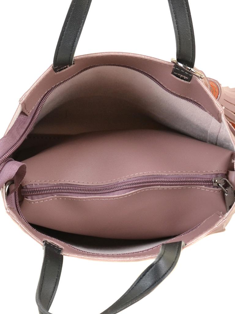 Сумка Женская Классическая иск-кожа ALEX RAI 2-04 8069 purple
