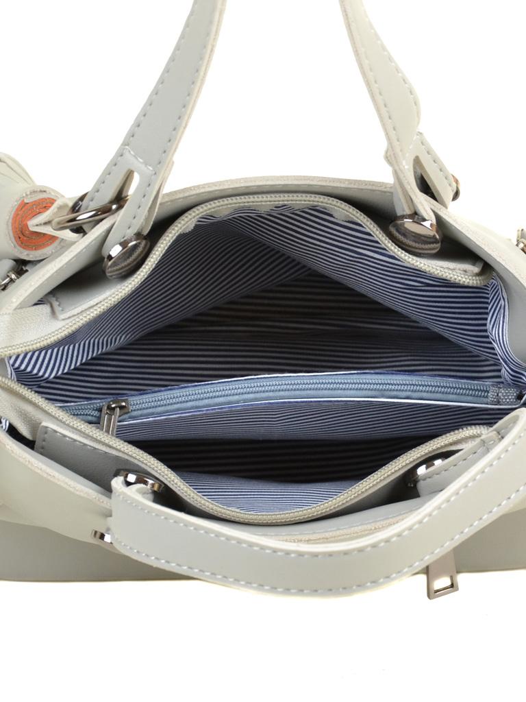 Сумка Женская Классическая иск-кожа ALEX RAI 2-04 8070 grey