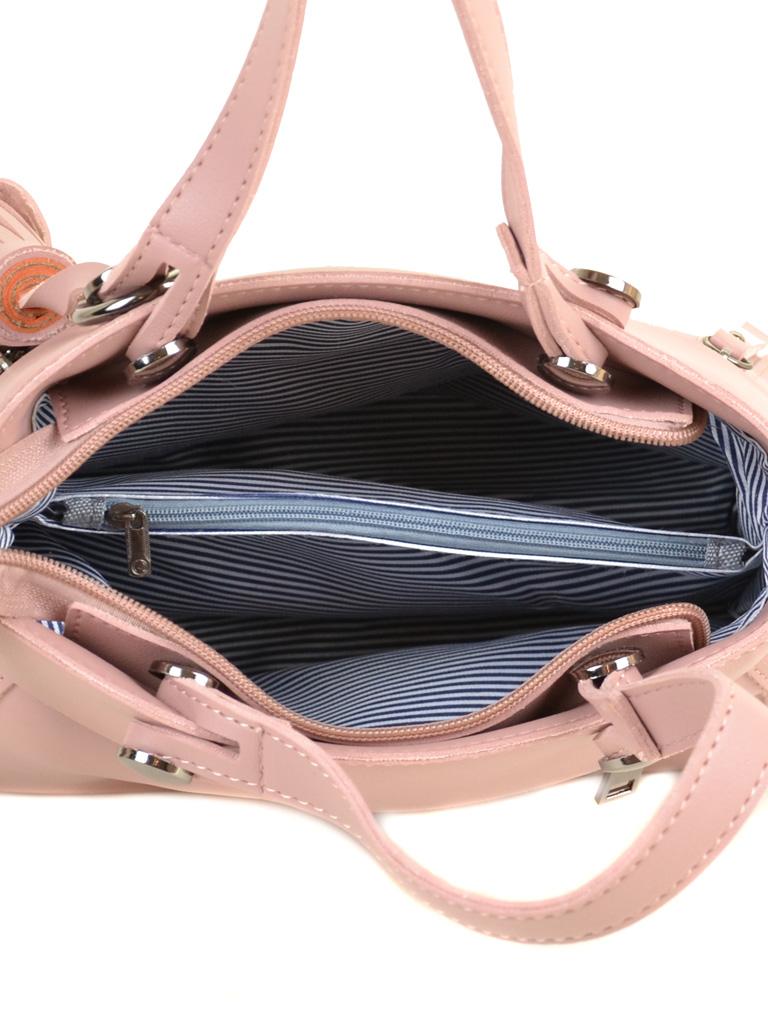 Сумка Женская Классическая иск-кожа ALEX RAI 2-04 8070 pink - фото 5