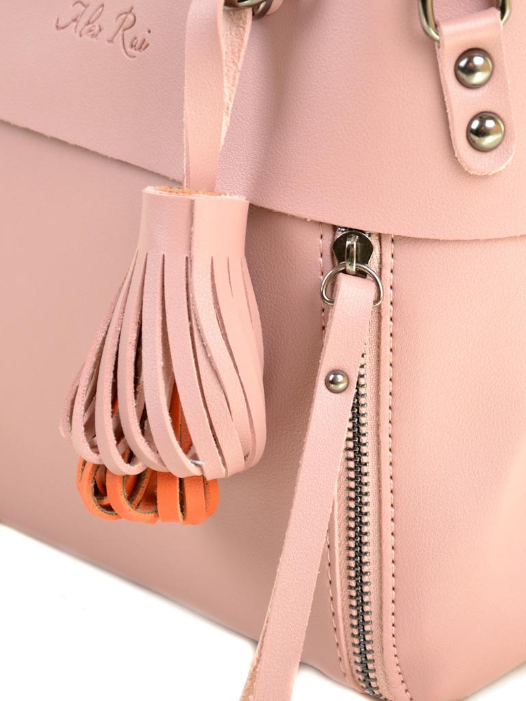 Сумка Женская Классическая иск-кожа ALEX RAI 2-04 8070 pink - фото 3