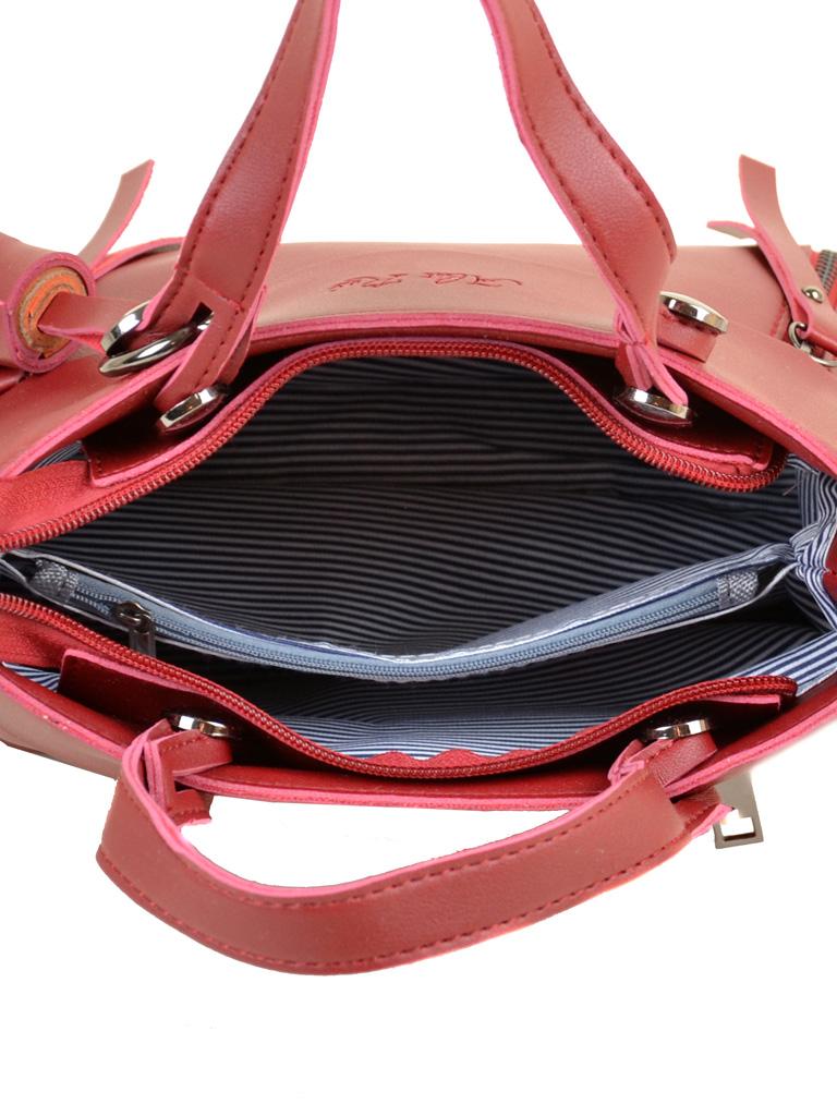 Сумка Женская Классическая иск-кожа ALEX RAI 2-04 8070 red - фото 5