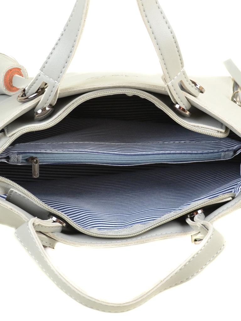 Сумка Женская Классическая иск-кожа ALEX RAI 2-04 8075 l-grey - фото 5