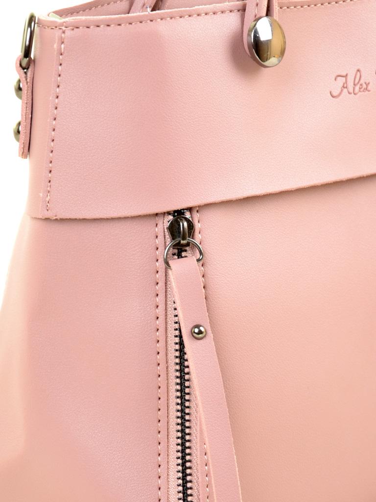 Сумка Женская Классическая иск-кожа ALEX RAI 2-04 8075 pink