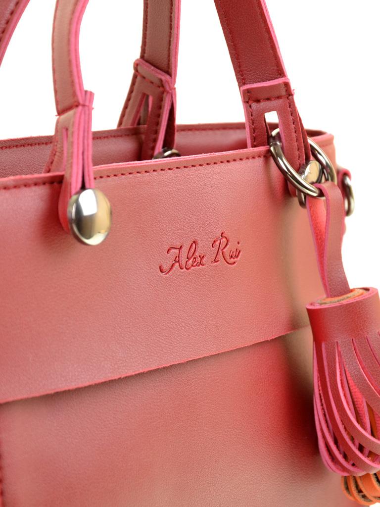 Сумка Женская Классическая иск-кожа ALEX RAI 2-04 8075 red