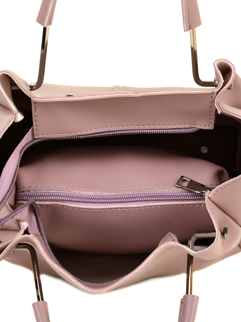 Сумка Женская Классическая иск-кожа ALEX RAI 2-04 883 grey-purple