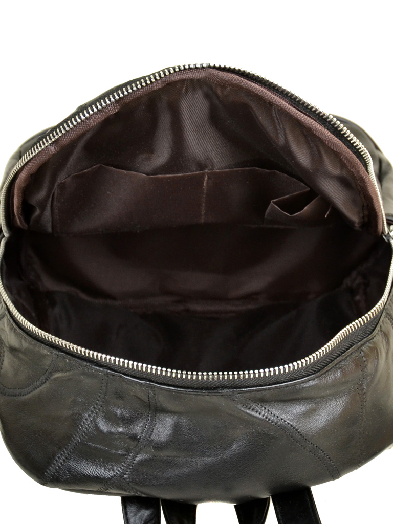 Рюкзак Женский кожа ALEX RAI 1-04 1706-2 black